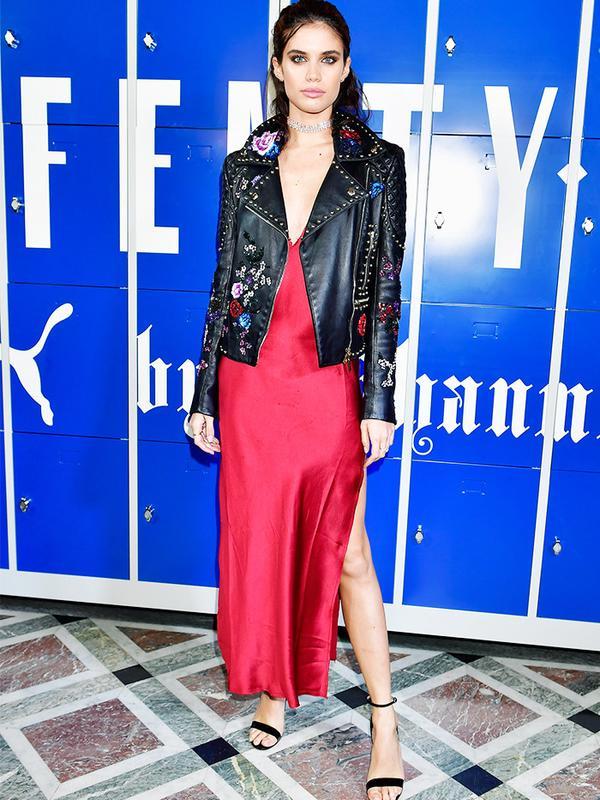 Paris Fashion Week front row February 2017: Sara Sampaio at Fenty Puma