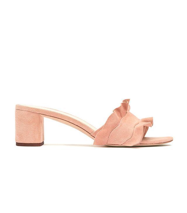 Loeffler Randall Vera Ruffle Slide Sandals