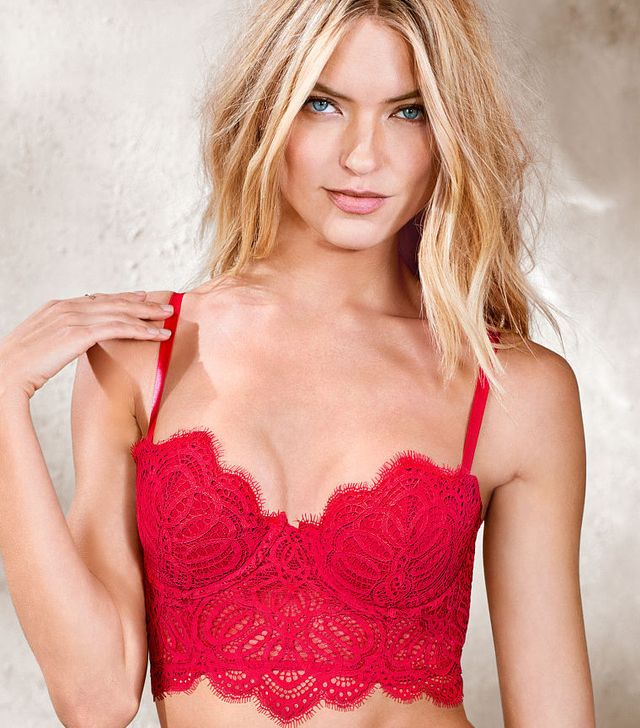 Victoria's Secret Mini Lace Bustier