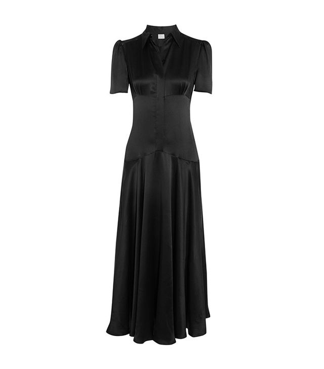 Hiller Bartley Plimpton Silk-Satin Dress