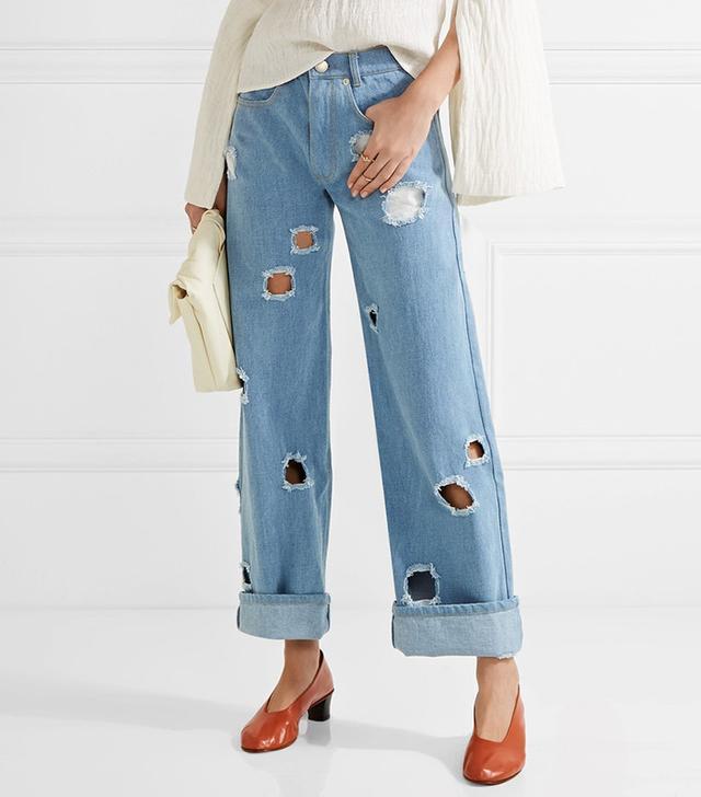 Rejina Pyo Mia Cutout Boyfriend Jeans