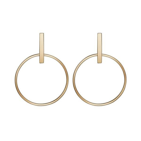 Aurate Circle Earrings