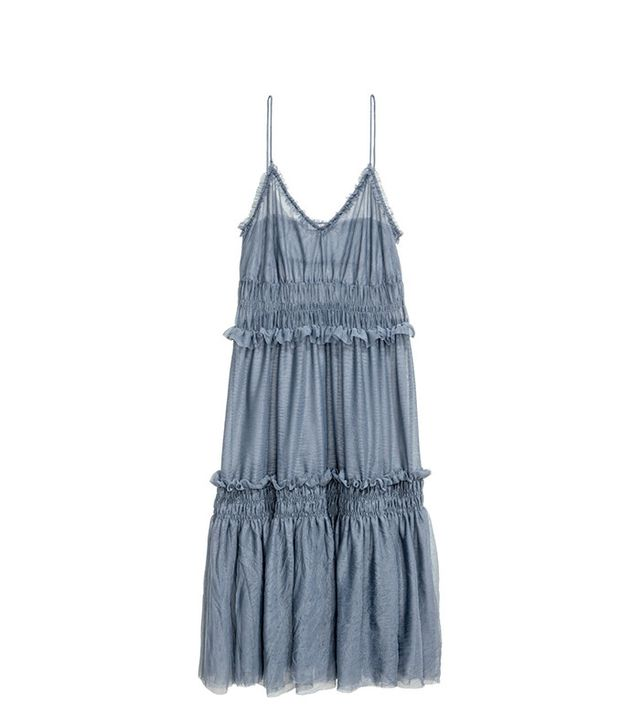 H&M Tiered Tulle Dress