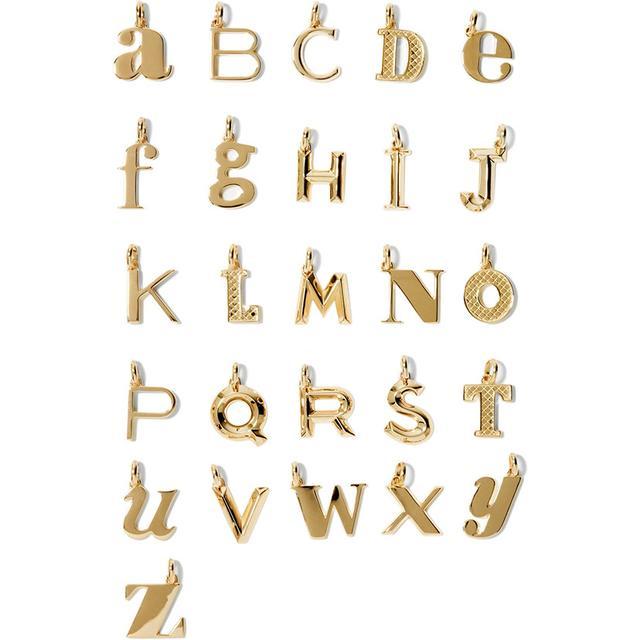 Monica Vinader A-Z Alphabet Letter Pendants
