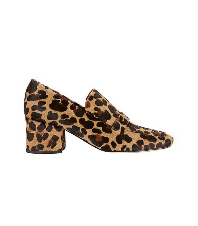 Dorateymur Turbojet Leopard Print Haircalf Loafers