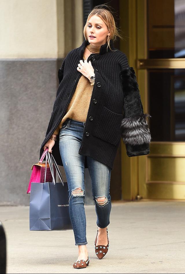 Olivia Palermo Storets Sweater