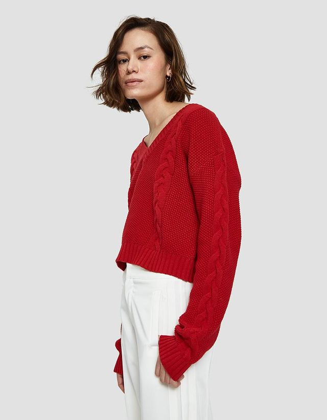 Alice Sweater in Red