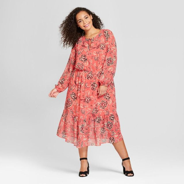 Plus Size Flowy Maxi Dress