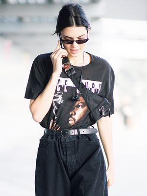 Kendall Jenner Is Ditching Skinny Jeans for These Instead