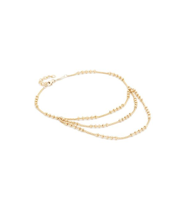 Best Jewelry For The Festival Season Jacquie Aiche Trio Beaded Anklet
