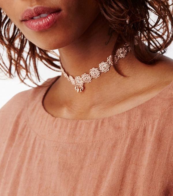 Best Jewelry For The Festival Season Free People Lexie Rose Delicate Choker
