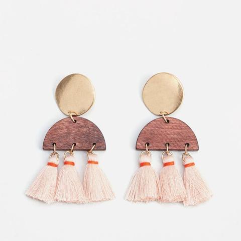 Tassel Pendant Earrings