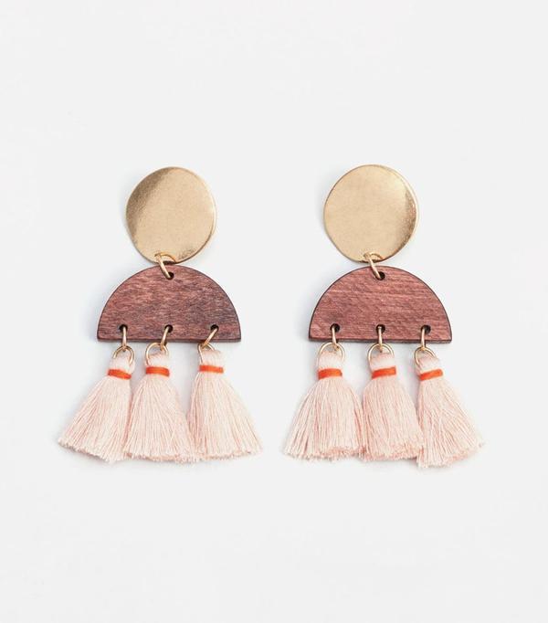 Best Jewelry For The Festival Season Mango Tassel Pendant Earrings