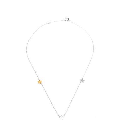 Rodarte Sterling Silver Star Necklace
