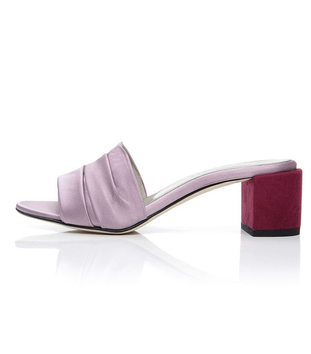 Dear Frances Eva Mules in Plum