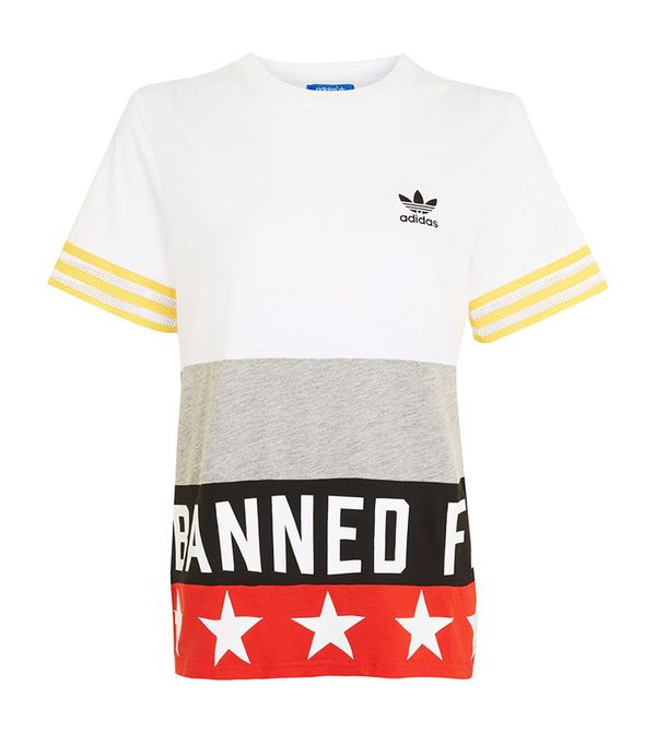 Adidas Originals Banned From Normal Slogan T-Shirt