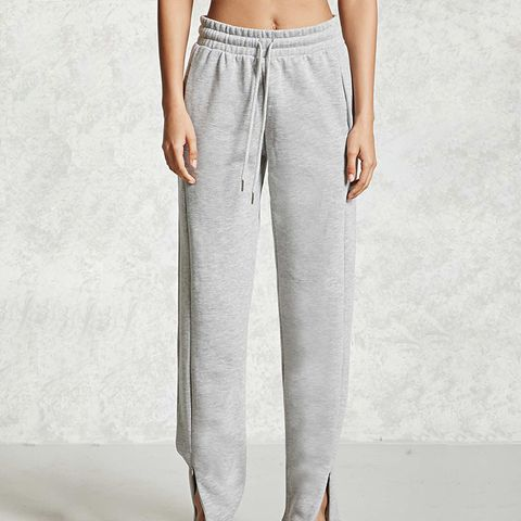 Zippered Drawstring Sweatpants