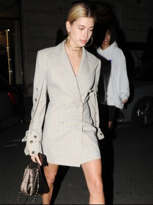 "Are Hailey Baldwin's Pumps Going to Be the Next ""Thing""?"