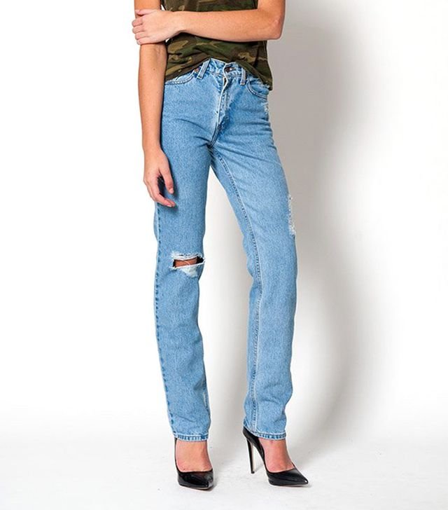Denim Refinery Levi's Distressed High Waisted 512 Jeans