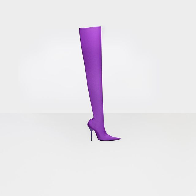 Balenciaga Knife Over-The-Knee Boots