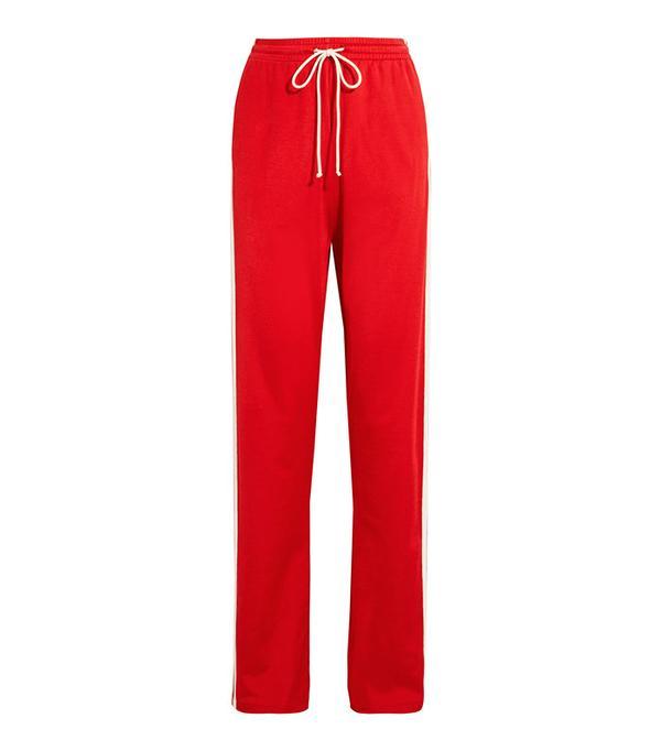 MM6 Maison Margiela Paneled Stretch-Jersey Track Pants