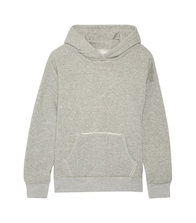 Simon Miller Boise French Cotton-terry Hooded Top