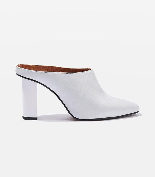 Topshop Greece Feature Heel Mules