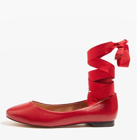 Kute Ballet Ankle Tie Pumps