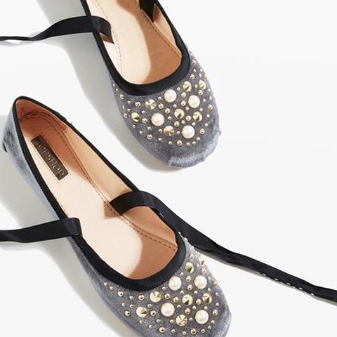 Kisses Pearl Ballet Shoes