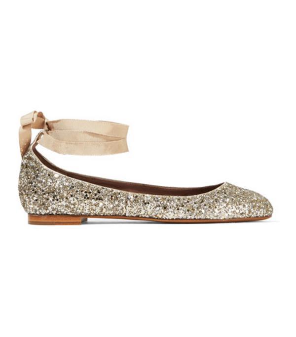 Best ballet pumps: Tabitha Simmons sequin