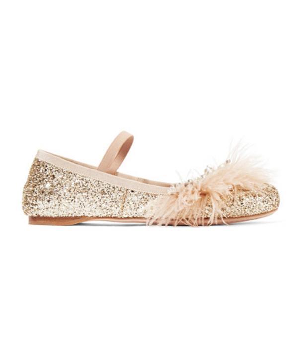 How to wear ballerinas: Miu Miu