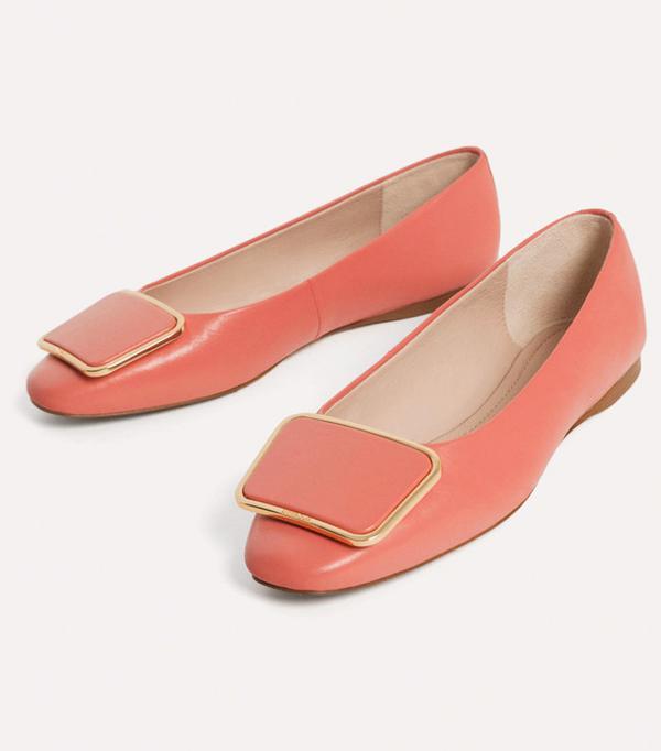 Best ballet pumps: pink
