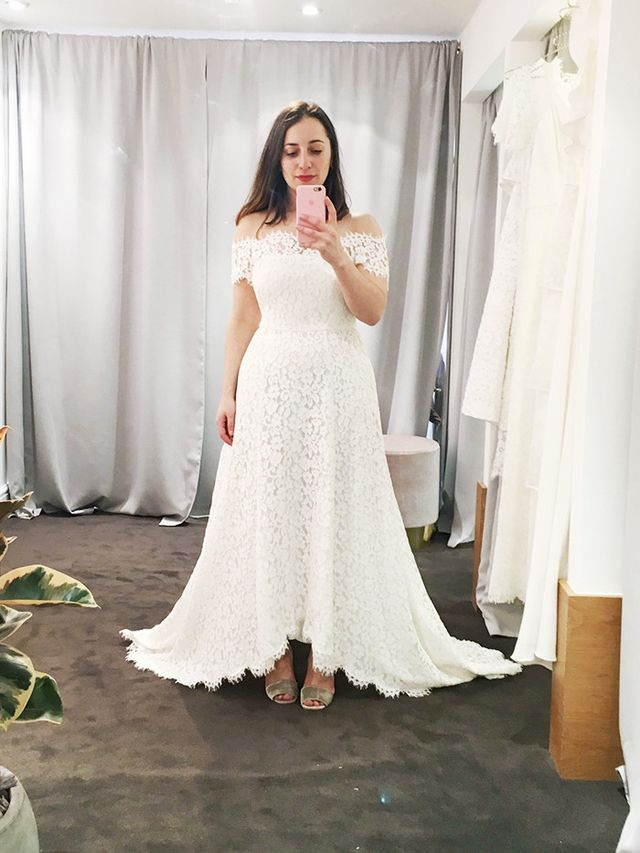 This Fashion Bride Tried On All Of Whistles Wedding Dresses