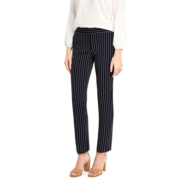 Ann Taylor The Ankle Pant in Stripes - Kate Fit