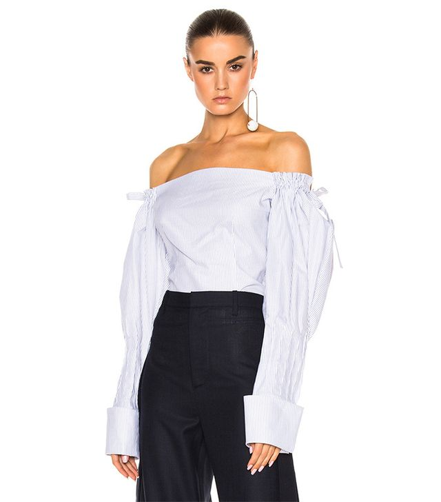 Jacquemus Off the Shoulder Top