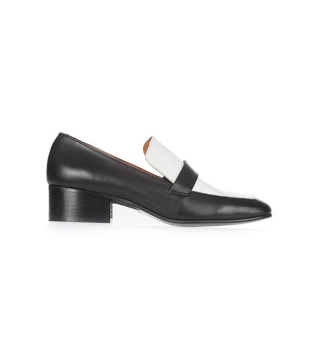 Topshop Monochrome Loafers
