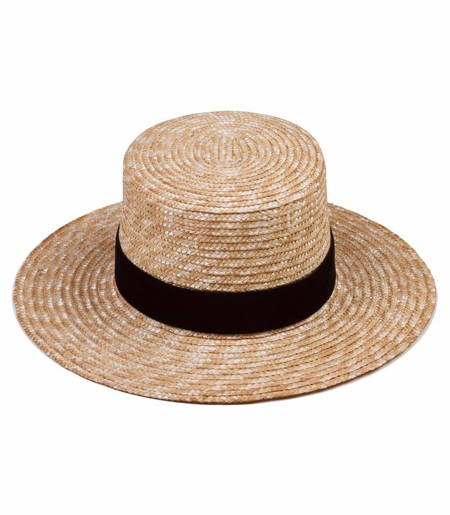 chic straw hat