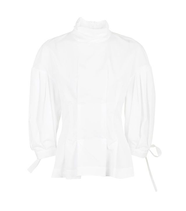 Topshop Boutique Cotton Corse Top