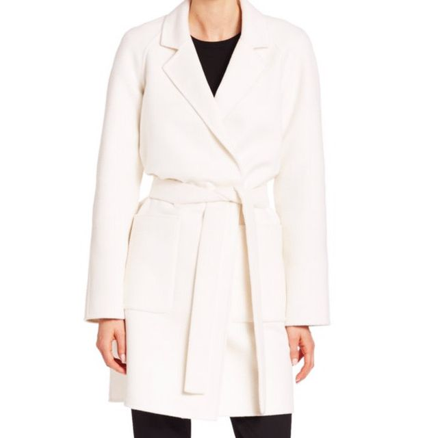 Michael Kors bathrobe coat