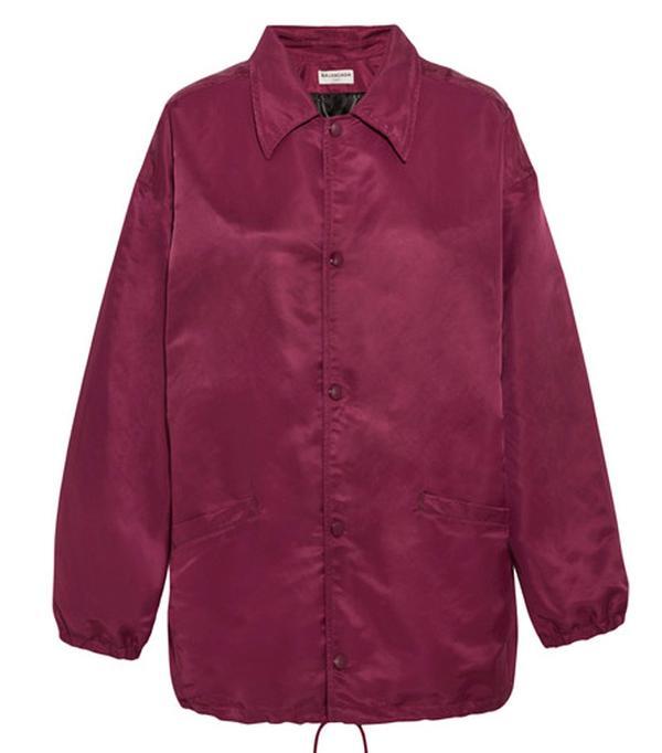 Best Bomber Jacket: Balenciaga Red Bomber