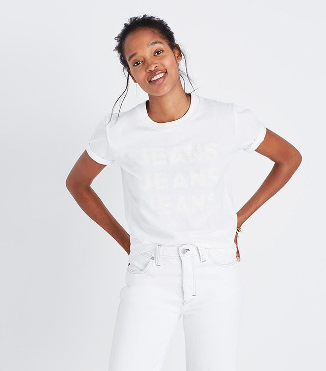 Madewell x Where I Was From Jeans Jeans Jeans Tee