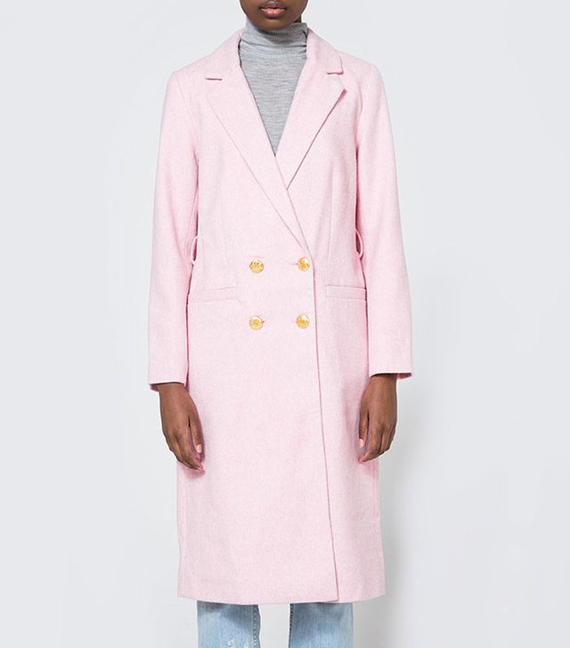 Ganni Hawthorne Wool Coat