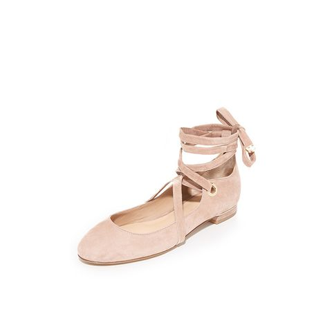 Dakar Lace Up Ballet Flats