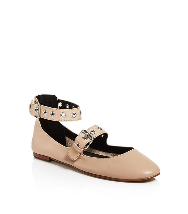 Rebecca Minkoff Rachel Buckle Mary Jane Flats