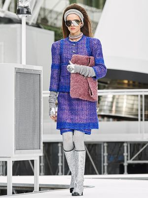 See All 96 Looks From Chanel's Space-Themed Show