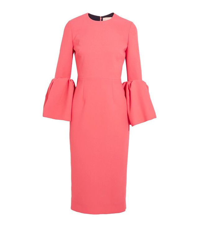 Ascot dress code: Roksanda Margot Crepe Dress