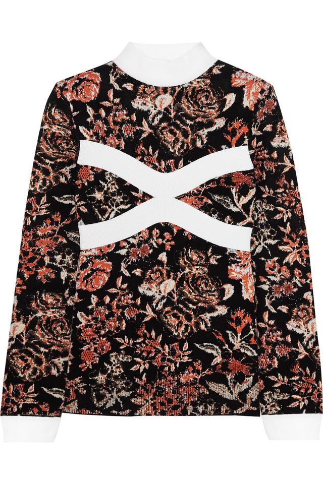 J.W.Anderson Floral Sweater