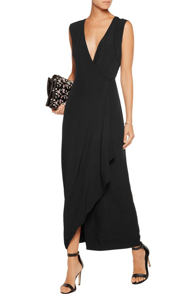 Adam Lippes Wrap-Effect Maxi Dress