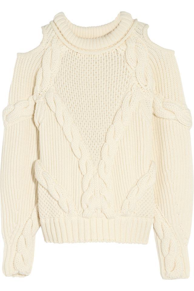 Alexander McQueen Cutout Sweater