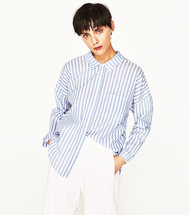 Most Popular Fashion Items 2017: Zara striped shirt